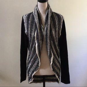 NWT RXB Long Sleeve Wrap Sweater